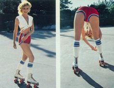 Hot skating Babe-bonnaroo inspiration