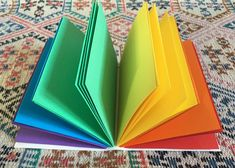 Your place to buy and sell all things handmade Rainbow Pages, Notebook Paper, Graphic 45, Book Binding, Leather Journal, Pastel Colors, Junk Journal, Bullet Journal, Pure Products