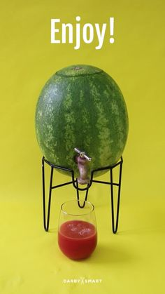 Turn A Watermelon Into A Keg. Use watermelon agua fresco or Agua de Jamaica