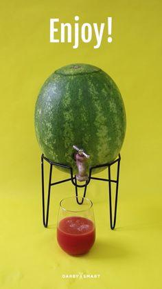 Turn A Watermelon Into A Keg. Use watermelon agua fresco or Agua de Jamaica