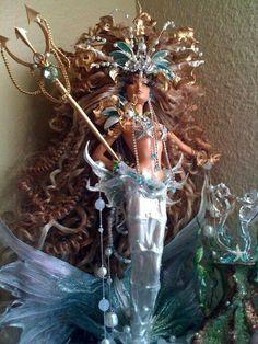 Custom mermaid Barbie