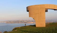 Gijón / Xixón in Asturias #escultura #chillida