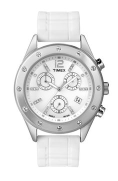 Timex® Crystal Accent Chronograph Watch available at Nordstrom
