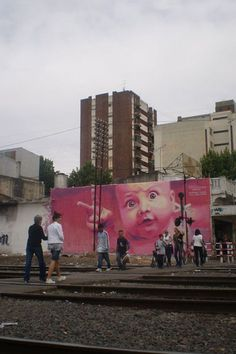 19 Street Artists To Keep An Eye On...this one by Martin Ron based in Argentina...