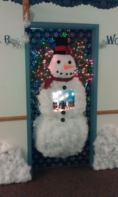 our door for the 2011 door decorating contest at the lighthouse school door decorations
