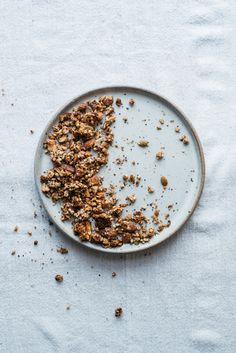 (mini) granola + pear scones | dolly and oatmeal
