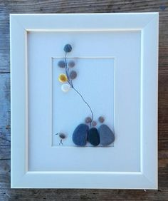 Pebble art Size: 10 x 8 inch / 25 x 21 cm Europe: 7 business days Canada: business days USA: business days Japan: business days Australia, New Zealand and everywhere else: business days (For the US and Canada, packages addressed to the West coast may Stone Crafts, Rock Crafts, Arts And Crafts, Diy Crafts, Pebble Pictures, Art Pictures, Pebble Art Family, Rock Sculpture, Beach Gifts