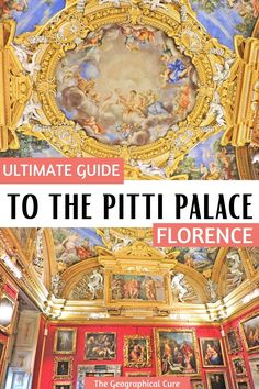 Planning a trip to Florence? The beautiful Pitti Palace is a must visit museum. This guide gives you an overview the breathtaking Pitti Palace. You'll discover 20 must see masterpieces and the Boboli Gardens. The Pitti Palace is a wonderful in situ museum. It has an amazing collection of Renaissance and Baroque paintings, with the world's best Raphael collection. If you're looking for the best things to do and see in Florence, put the Pitti Palace on your Florence itinerary or bucket list.