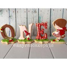 Little Red Riding Hood Cookies Fancy Cupcakes, Fancy Cookies, Iced Cookies, Cute Cookies, Royal Icing Cookies, Cookies Et Biscuits, Cupcake Cookies, Summer Cookies, Cookies For Kids