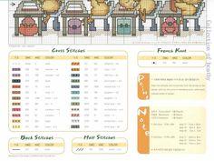 Patterns Just Cross Stitch (p 710.) | Learning Crafts è facilisimo.com