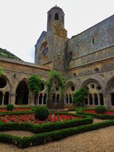 La route de Cathar abbey Fontfroide, South of France
