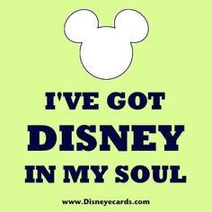 Disney in my soul! True Dat!