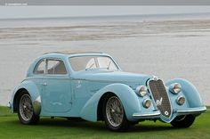 1938 Alfa Romeo 8C 2900B Touring Berlinetta, coupé