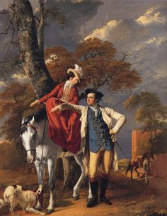 Mr and Mrs Thomas Coltman byJoseph Wright of Derby,1770-72