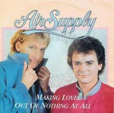 """www.my80splaylist.com - Air Supply - """"Making Love Out Of Nothing At All"""", 1983 - 80's Music Videos and Mp3 Audio. Classic 80's love song. For more awesome 80's music videos visit www.my80splaylist.com"""
