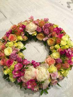 Wreath Floral Wreath, Wreaths, Home Decor, Floral Crown, Decoration Home, Door Wreaths, Room Decor, Deco Mesh Wreaths, Home Interior Design