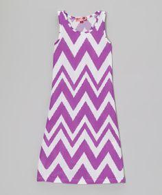 Look at this Purple Rain Zigzag Maxi Dress - Girls by Chillipop Girls Maxi Dresses, Little Dresses, Zig Zag Pattern, Purple Lace, Cute Outfits For Kids, Lace Dress, Kids Fashion, Rain, Spoiled Rotten