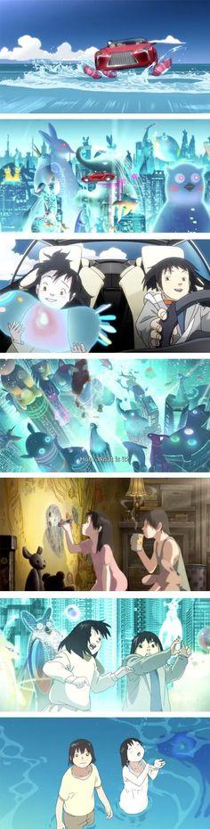 Koji Morimoto animated sequence