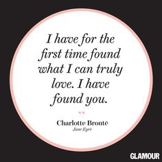 That Charlotte Bronte really had a way with words.