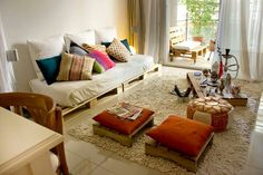 Amooo o sofa de palets