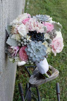 Ashley's bridal bouquet!  www.twistedwillowflowers.com