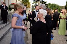 """The Royal Family on Twitter: Duke of Edinburgh Awards' """"Diamonds are Forever Gala"""", June 9, 2016-Countess of Wessex with 'M' of the James Bond films, Dame Judi Dench"""