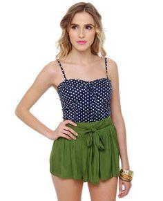 Lily Picking Green Shorts #lovelulus