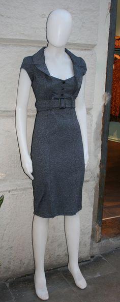 Retro dress.