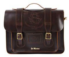 "15"" Leather satchel CHARRO AB004233"