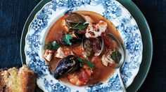 Clark's Oyster Bar's Cioppino: this Cioppino uses bottled clam juice, a smart shortcut to robust broth.