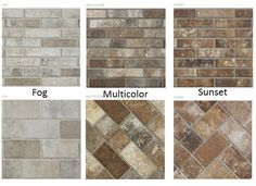 Brick Floor Tile Collection Creates A Timeless Craftsman Look
