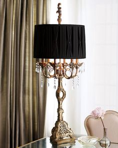 """Haven"" Table Lamp at Horchow."