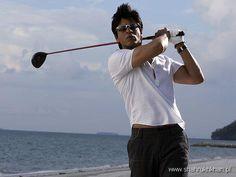 Playing golf... DON!!