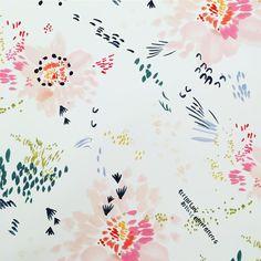 Elizabeth Clowes - Playful floral pattern
