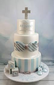 Resultado de imagem para boy baptism cake designs