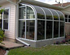 Where To Find Solarium Room 162 - Pecansthomedecor Sunroom Kits, Small Sunroom, Pergola With Roof, Patio Roof, Pergola Kits, Gazebo, Solarium Room, Greenhouse Construction, Basement Entrance