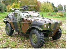 "VBL (Vehicule Blindé Léger) french ""Light Armoured Vehicle"""