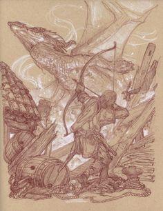 Donato Giancola sketch - Google Search