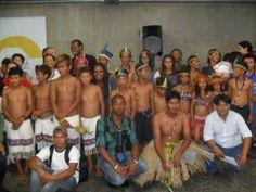 Índios Guaranis de Miracatu participam de evento na Capital