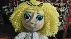 Háčkovaná panenka, vlastní tvorba