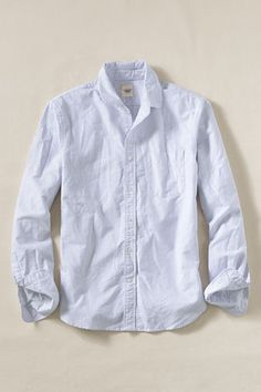 Oxford Club Collar Shirt from Lands' End Canvas