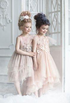 5a6285fc1 flower girl dress Beach Flower Girls, Flower Girl Dresses Boho, Little Girl  Dresses,