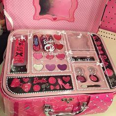 Makeup Kit For Kids, Kids Makeup, Makeup Set, Cute Makeup, Barbie Makeup Kit, Justice Makeup, Mode Chanel, Unicorn Makeup, Barbie Birthday