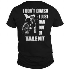 Moto Crash Dirt Bike LIMITED TIME ONLY. ORDER NOW if you like, Item Not Sold Anywhere Else. Amazing for you or gift for your family members and your friends. Thank you! #moto #shirts