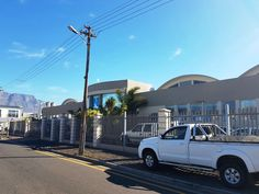 exterior painting done to the building in Paarden Eiland