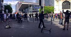 """L'ottusità del """"tifo"""" violento, scontri a Lille tra russi, inglesi e francesi"""