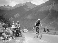 Italian cycling legend, Gino Bartali.  from Pedalare!Pedalare!