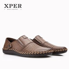 2017 XPER Brands Fashion Luxury Men Casual Shoes Slip-on Mocassins Men Loafers Breathable Big Size YMD86688BL/BN