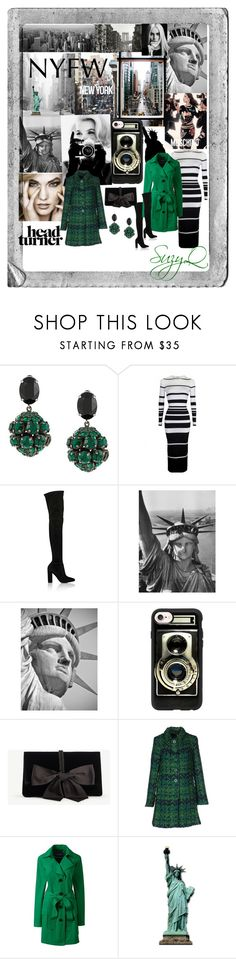 """""""🗽NYFW🗽"""" by suzettestokes ❤ liked on Polyvore featuring Marni, Gianvito Rossi, Casetify, Moschino, Ann Taylor, Desigual, Lands' End and Polaroid"""