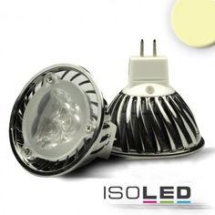 MR16 LED Strahler 3x1 Watt, Style 2, warmweiss / LED24-LED Shop